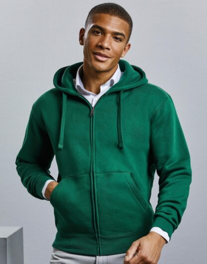 Hanorace Barbati Mens Authentic Zipped Hood