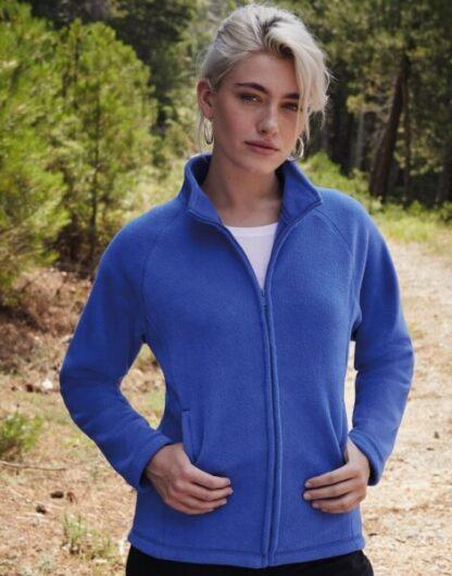 Ladies Full Zip Fleece